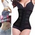 2016 Mujeres de La Cintura Corsé Torso Largo Entrenador Cintura Cincher Tummy Slimmer Faja Shapewear Respirable Más Tamaño Adelgaza La Correa