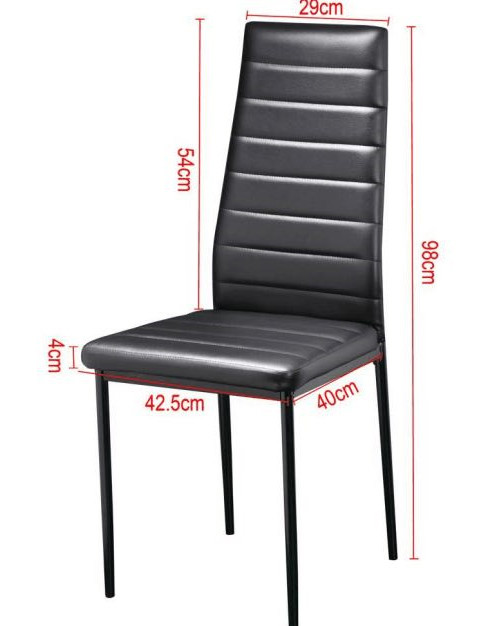 Hotsale Simple Style China Dining Chair With Stitching Dining Chairs