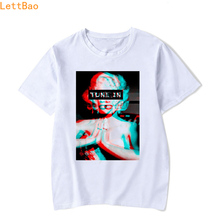 summer 2019 Fashion Short sleeve TRIPPY PSYCHEDELIC MARILYN MONROE t sh