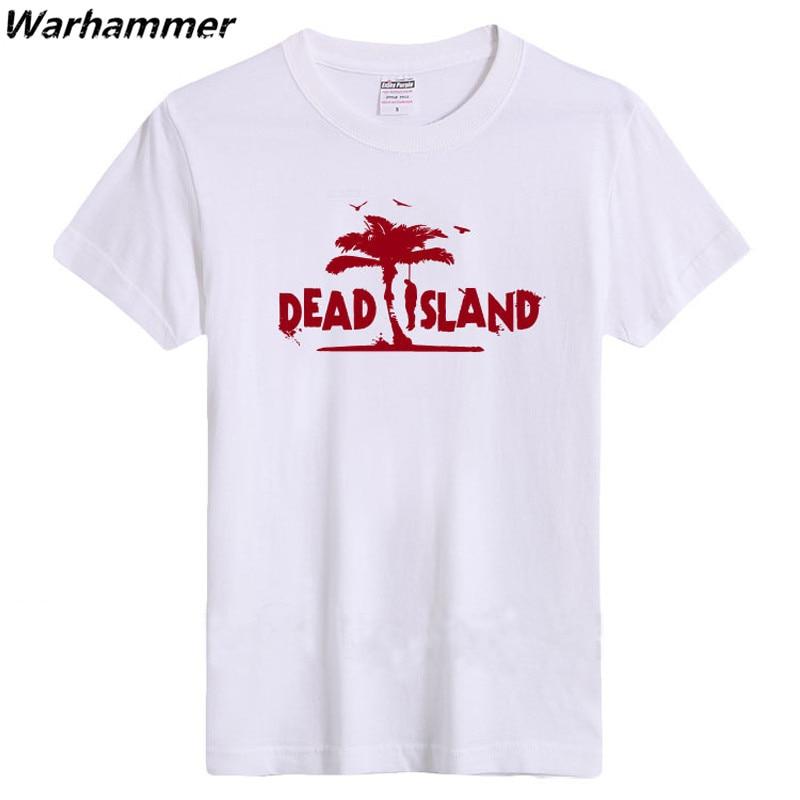 T gömlek 2017 vrouwen Ölü Ada T gömlek Erkekler Oyun Oyuncu Kısa - Erkek Giyim - Fotoğraf 3
