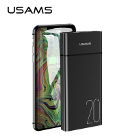 USAMS Universal Dual USB Power bank 20000 mAh bank power Portable phone Charger Powerbank mobile phone charger