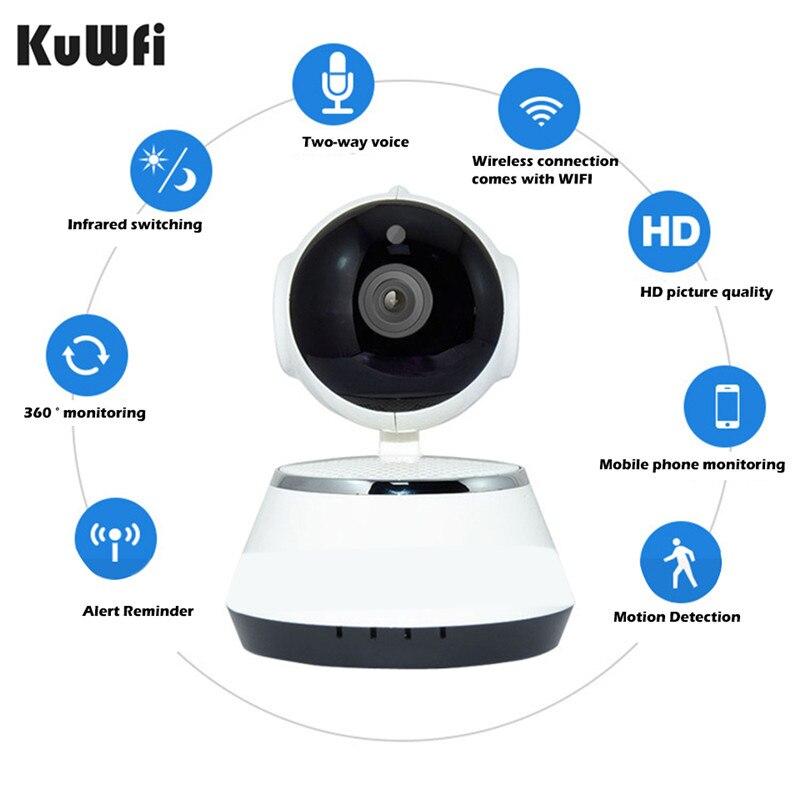 WiFi IP Camera Wireless Network Camera CCTV Wifi Cam Megapixel Wireless Digital Security IR-Cut Night Vision Alarm System