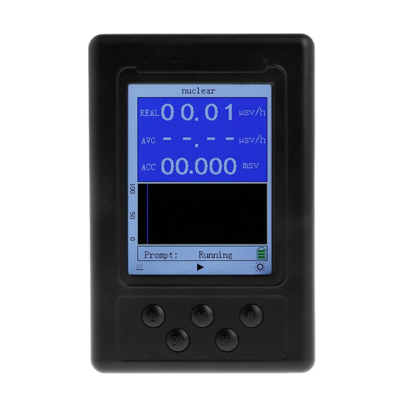 Portable Dosimètre Geiger Nucléaires détecteur de radiation X-ray Bêta Gamma Détecteur