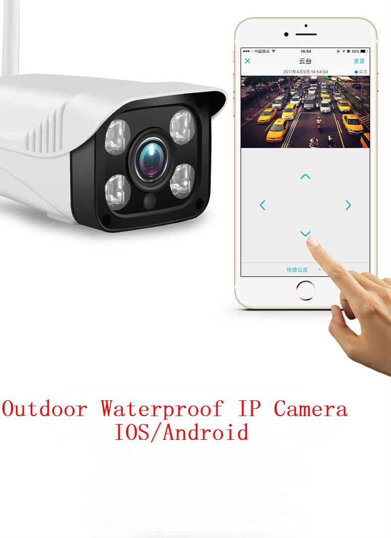YobangSecurity 720P Yoosee IP Outdoor Camera Wifi IOS Android APP Waterproof Camera Night Vision For YB103 WIFI Alarm System
