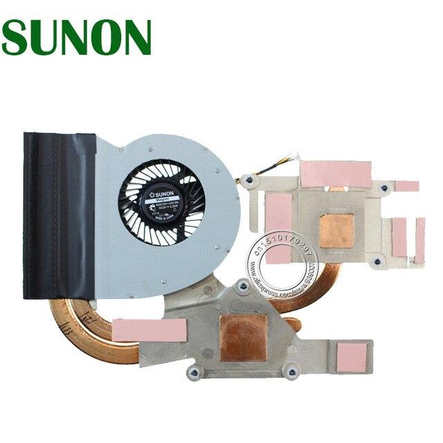 Dissipateur thermique et ventilateur refroidissement, pour Lenovo IdeaPad Y500, AT003002SS0 MG60120V1 C230 S99