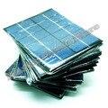 20 pçs/lote 6 V 330mA 2 W mini-painéis solares pequeno energia solar 3.6 v de carga da bateria solar do diodo emissor de luz transporte da gota de células solares