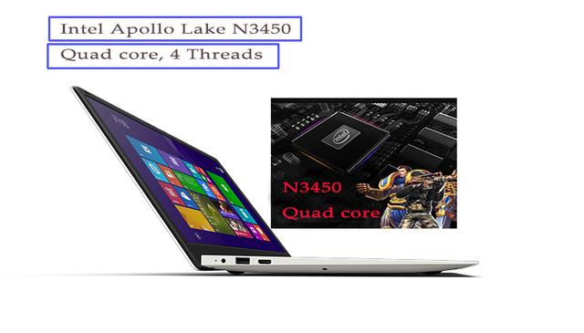 2018 new 15.6inch gaming laptop 6GB DDR3 RAM 64GB EMMC (1TB HDD)  Apollo Lake N3450 Quad core 1920X1080 HD screen Windows 10
