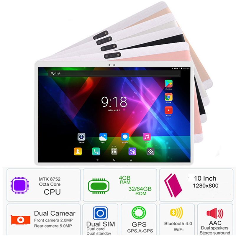 Google Play DHL Free Shipping 10 inch Android 8 0 Tablets PC 4GB RAM 64GB ROM