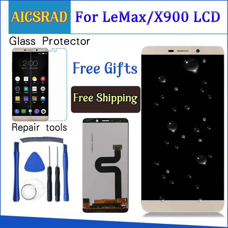 For Letv <font><b>X900</b></font> LCD Display Leco Max Pro X910 4G Touch Screen Digitizer Assembly For LETV Le Max LCD Screen image