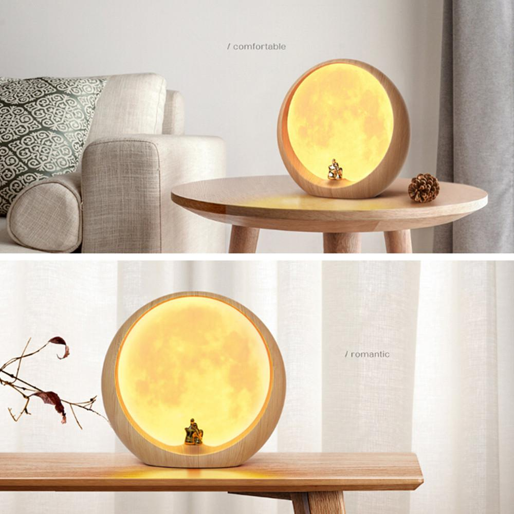 LED MOON LOVE LAMP - Storefyi