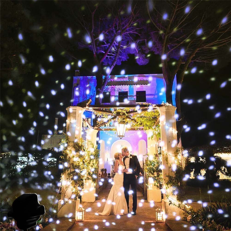 Christmas-Led-Snowfall-Projector-Light-Rotating-Waterproof-White-Snowflake-Fairy-Landscape-Projection-Lights-with-remote