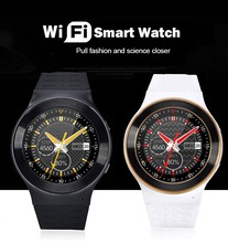 DHL Free Fast Ship S99 GSM 3G Android 5.1 Smart Watch Phone With 5.0 MP Camera GPS WiFi BT4.0 Heart Rate 1.3″ IPS Touch Screen