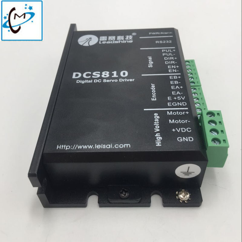 Inkjet printer Leadshine motor driver Gongzheng JHF Vista Myjet large format printer DC servo driver DCS810 stepper motor купить