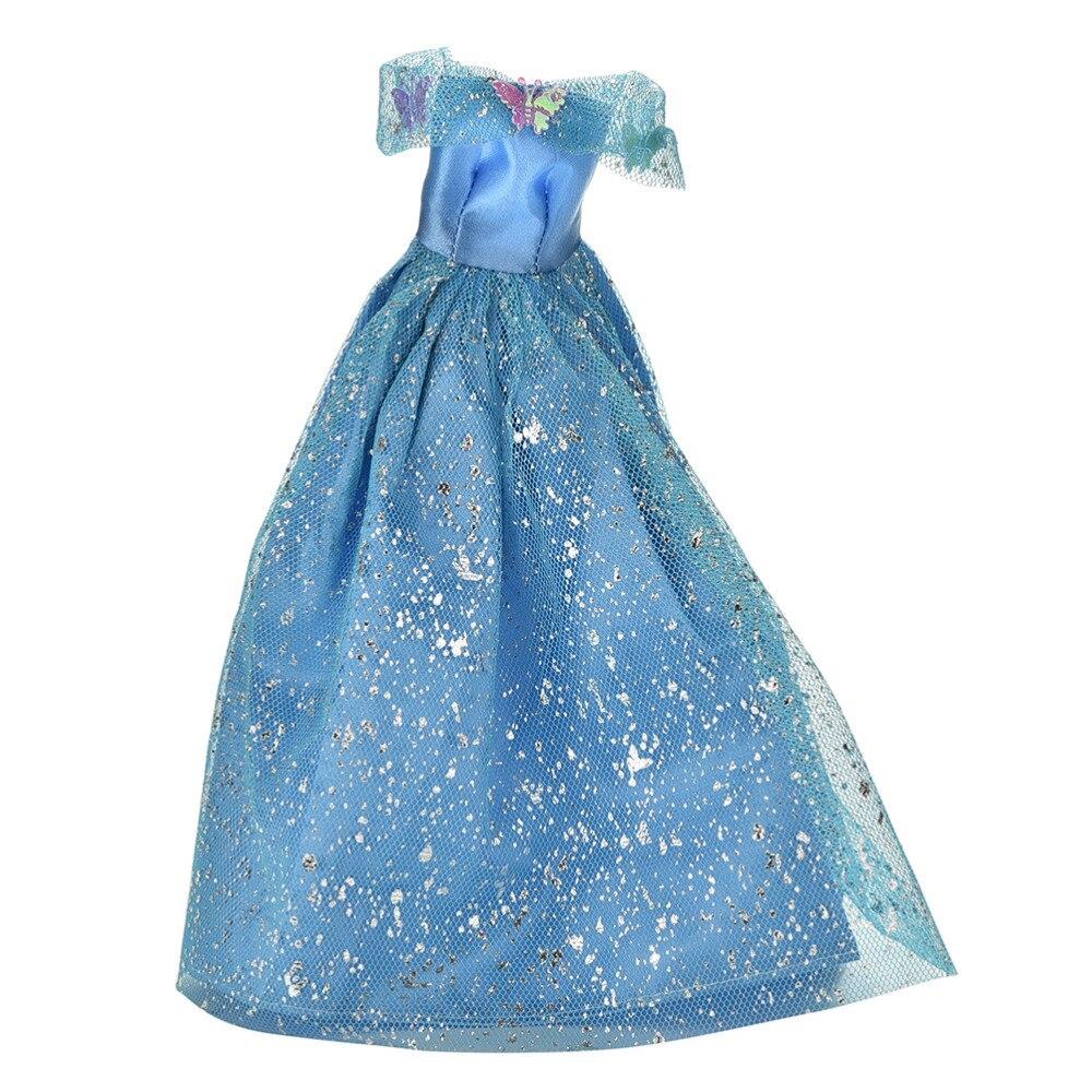 2016 nueva moda hecha a mano de color azul Accesorios de muñecas ...