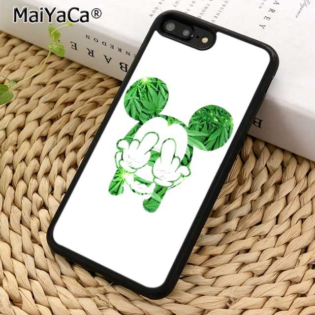coque iphone 8 mickey weed