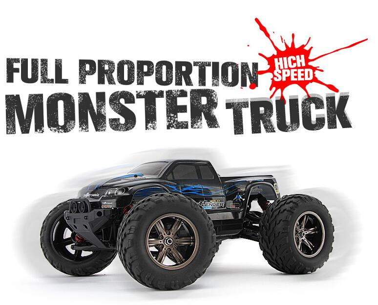 S911 1 12 High Speed 42KM H 2 4G Full Proportion Monster Truck Shockproof Waterproof OFF