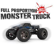 S911 1:12 Alta Velocidad 42 KM/H 2.4G Completo Proporción OFF-ROAD Monster Truck A Prueba de Choques Impermeable Cena Juguete RC Del Coche Del Envío gratis