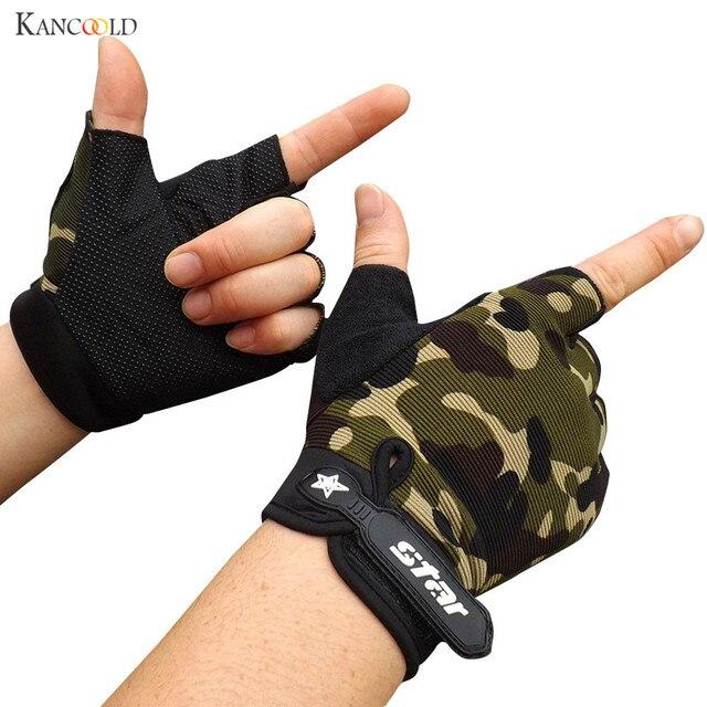 新しいジム手袋画面通気性ウェアラブル保護指なし手袋guantesモトluvasアルパインモトクロス星gants no16