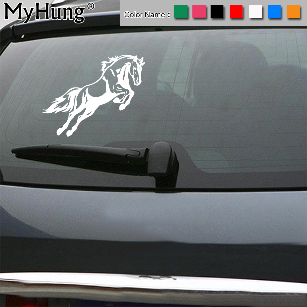 Leaping Jaguar Decal On Car Door