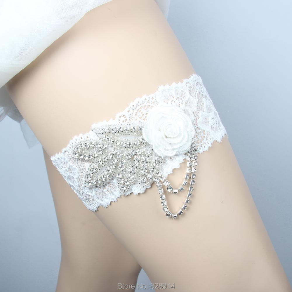 Where To Buy A Garter For Wedding: Aliexpress.com : Buy LOWOSAiWOR Factory Wholesale Flower