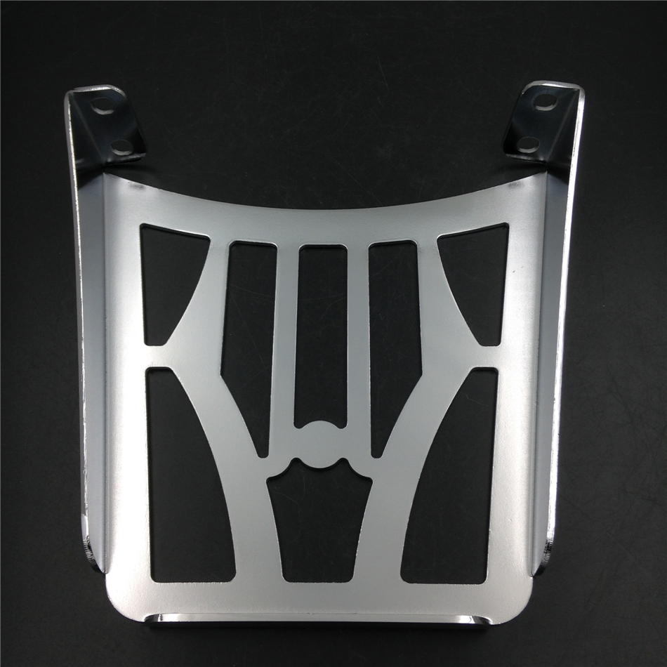 Aftermarket free shipping motorcycle parts Sissy Bar Luggage Rack For Harley Davidson Sportster Xl883C XL883R Xl1200R XL chromed partol black car roof rack cross bars roof luggage carrier cargo boxes bike rack 45kg 100lbs for honda pilot 2013 2014 2015