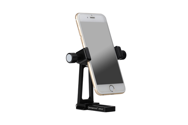 Free Shipping SUNWAYFOTO CPC-01 Mobile Phone Accessories Pro Desk and Stand Professional Tripod Ballhead Phone Holder Bracket