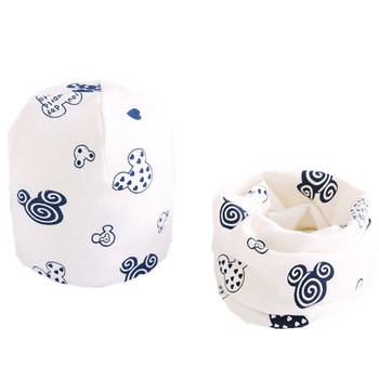 Nowy 2020 jesienno-zimowa chłopcy dziewczęta kapelusz zestaw szalików wiosna czapka dla chłopców dzieci kapelusz szalik zestaw kołnierzy bawełna pluszowe dziewczyny kapelusz zestaw szalików tanie i dobre opinie miaolingfangxin CN (pochodzenie) COTTON Moda 20cm 40cm Szalik Kapelusz i rękawiczki zestawy children hat scarf set 100g