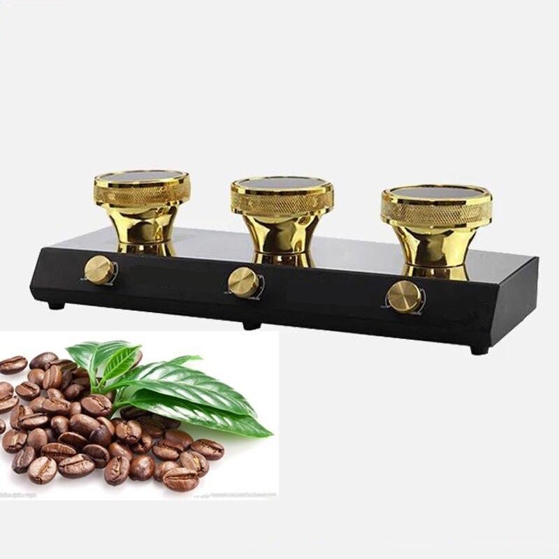Новинка, 3 головки, 400 Вт, 220 В, галогенный балочный нагреватель, горелка, инфракрасный нагреватель для кофемашины Hario Yama Syphon - 2