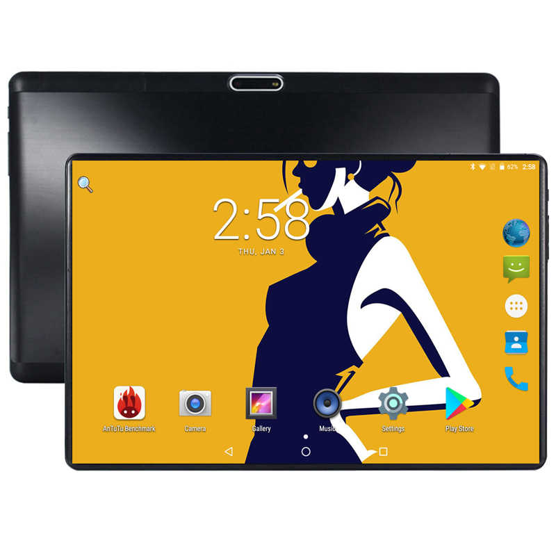 10 Inch Android 8.0 Tablet PC 3G 4G FDD LTE Phablet Support Netflix Youtube Octa Core 64GB ROM 4GB RAM 2.5D Glasss 1280X800