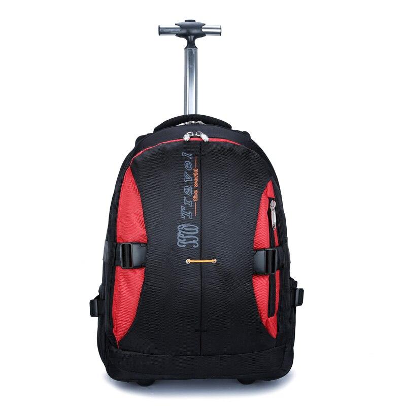 wenjie bror ny stor kapacitet rullandeBackpack Bag affärs män och - Väskor för bagage och resor - Foto 4