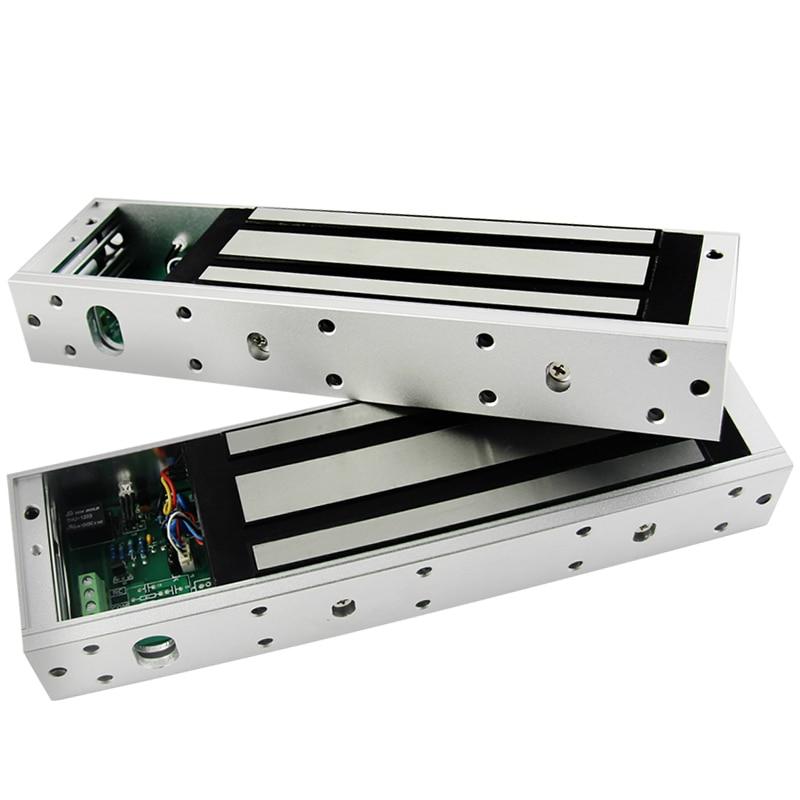 500kg 1000lbs access control electric magnetic door lock for 12v magnetic door lock