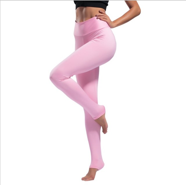 64b6bc4d6ea US $24.19 |Women's Yoga Pants Ankle Length Pants Stretch Fitness Leggings  Gym Tights Pants High Waist Sports Trousers Solid 8Colors-in Yoga Pants  from ...