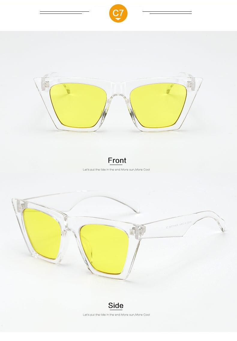 HTB1xv7Wl6nD8KJjSspbq6zbEXXai - AFOFOO Fashion Women Sunglasses Cat Eye Glasses Lady Brand Designer Retro Sun glasses UV400 Shades Eyewear Oculos de sol