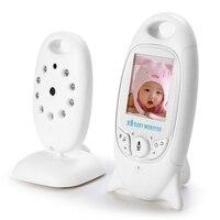 New VB601 Wireless Baby Monitor Infant 2.4GHz Digital Video Baby Temperature Display Night Vision Music Nanny Monitor EU plug