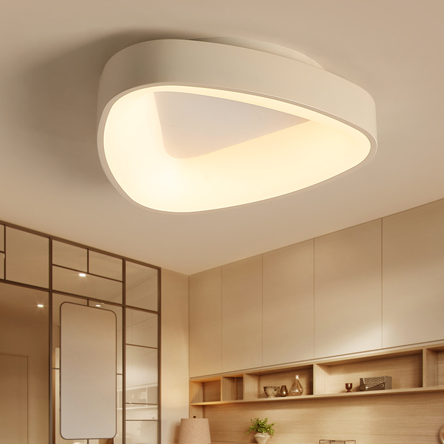 Dragonscence Modern Led Ceiling Light Lustre For Bedroom Dining Room Child's room Kitchen clubs Lello triangle Ceiling lamp