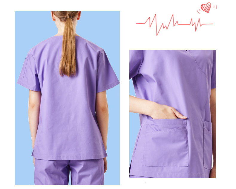 fff7b14c097 Lavender Women's Taskwear Medical Scrub Uniform Nursing Scrub Set ...