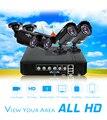 2/3/4 canais sistema de cctv 4CH Mini DVR Para CCTV Kit XMEYE 1200tvl 720 p ahd bala ir ao ar livre sistema de câmera de segurança vga hiseeu