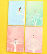 1pcs/lot Lovely Fairy tale Fresh Star Girl series DIY Diary book stationery office school supplies