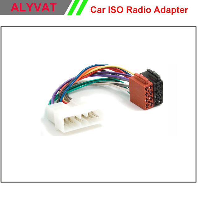 car radio stereo iso wiring loom adapter cable connector for daewoo rh 6 8 19 kajmitj de