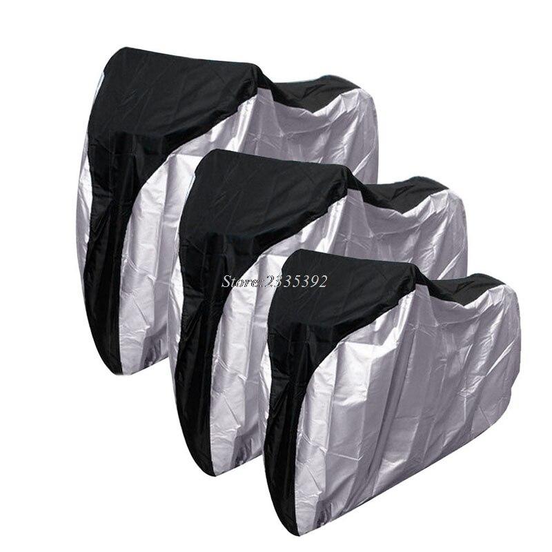 Protector de polvo de lluvia al aire libre antiuv impermeable bicicleta ciclismo garaje cubierta