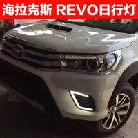 Аксессуары для REVO ходовые огни 2015 hilux revo светодиодные фонари ranger Бесплатная доставка высококачественные автомобильные аксессуары