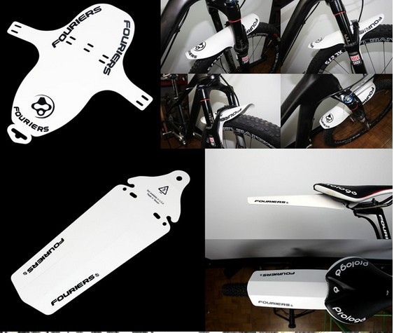 2PCS Cycling Bicycle Bike Front Rear Mud Guards Mudguard Fenders Set 6 Colors