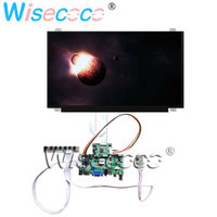 15.6 LCD 1920 * 1080 N156HGA EAB TFT LCD 60Hz with TV input Audio speaker HDMI control driver board for portable PC DIY laptops