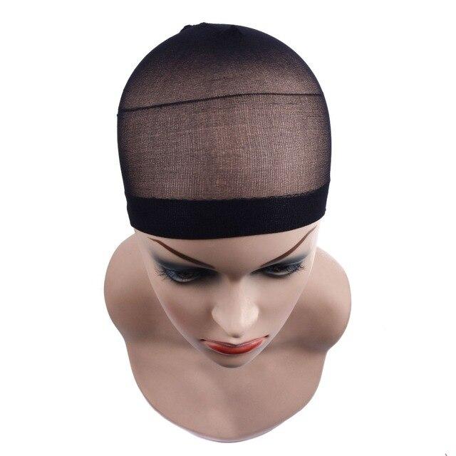 2 stuks/pak Pruik Cap haarnet voor Weave Haarnetjes Pruik Netten Stretch Mesh Pruik Cap voor Het Maken Pruiken Gratis Grootte 1