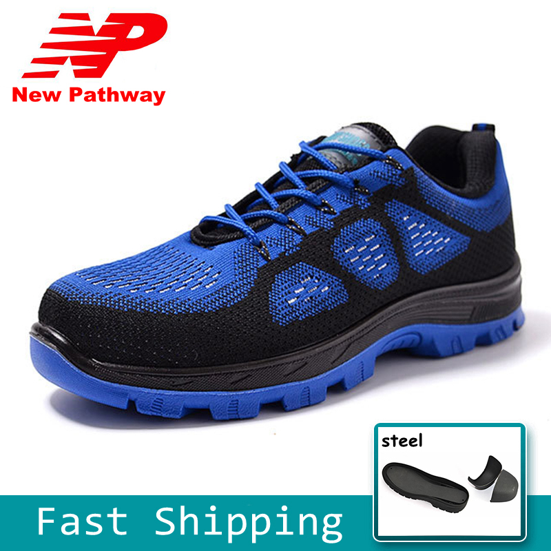 Men's Shoes Work & Safety Boots Shoes Man Multi-function Safety Shoes Mens Steel Toe Covers Working Shoes Breathable Summer Tooling Boots Protect Footwear Cs415 Online Discount