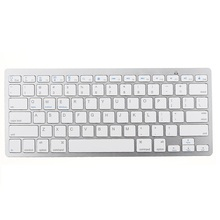 Wirelss Bluetooth 3 0 Keyboard For iPhone iPad Macbook Samsung Tablet PC iOS Android Devices White