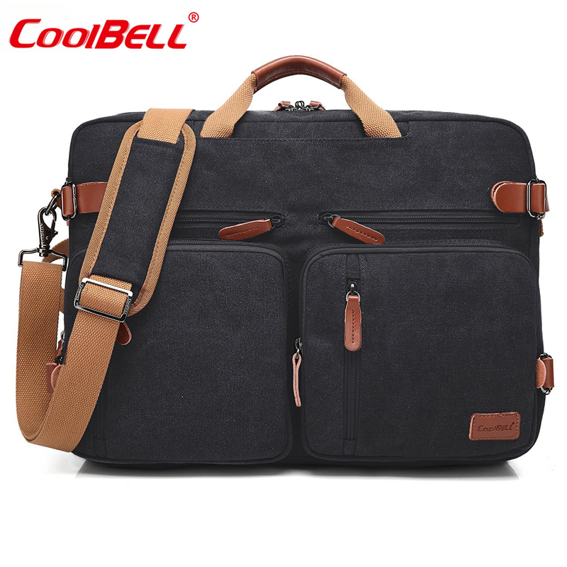 Coolbell Fashion Computer Bag 17.3 Inch Convertible Laptop Backpack Laptop Bag For Teenagers Multifunctional Travel Rucksack
