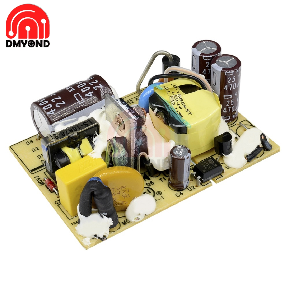 AC-<font><b>DC</b></font> <font><b>12V</b></font> 2A Switching Module <font><b>DC</b></font> Power Supply Voltage Regulator Switch Circuit Bare Board Monitor LED Lights 110V 220V SMPS image