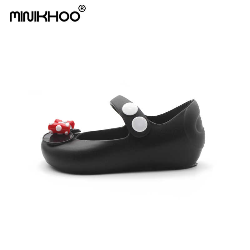 a419c335939 ... Mini Melissa 2018 New Mickey Bowknot Jelly Princess Sandals Shoes Girl  Jelly Sandals Baby Jelly Sandals ...