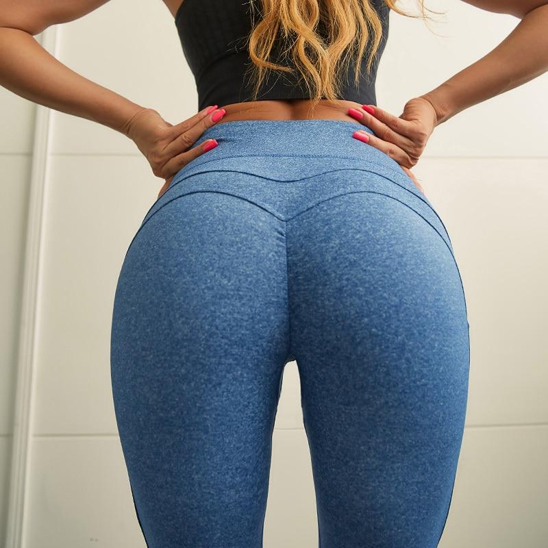 2020 WomenS Summer Yoga Leggings High Rise Hips Trousers